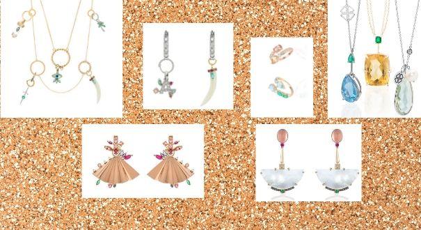 As joias minimalistas e versáteis são as novas tendências que invadem as vitrines do ES. Crédito: Divulgação/ Montagem Gazeta Online