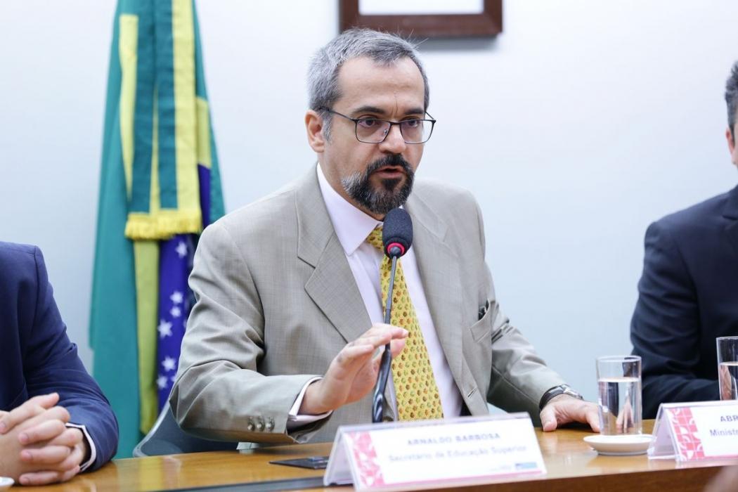 Abraham Weintraub, ministro da Educação. Crédito: Michel Jesus | Câmara dos Deputados