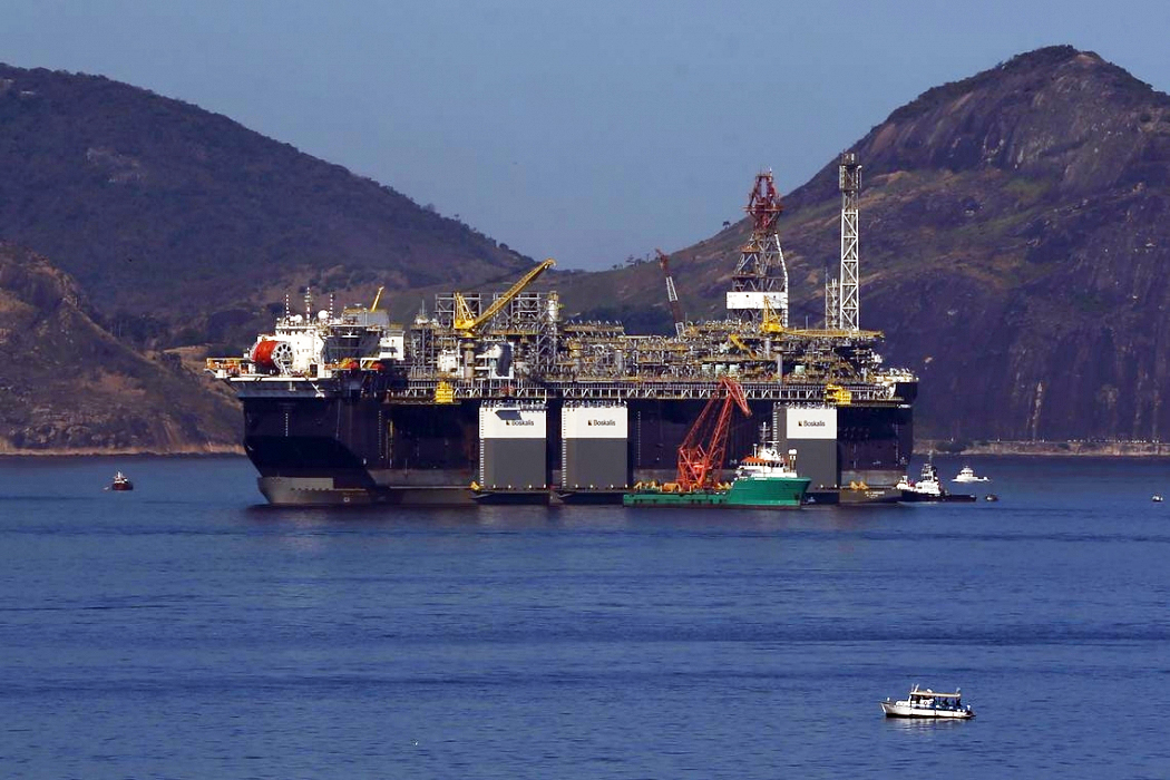 Plataforma de petróleo. Crédito: Tânia Rego/Agência Brasil
