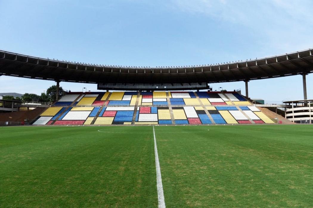 Estádio Kleber Andrade, em Cariacica. Crédito: Vitor Jubini   GZ