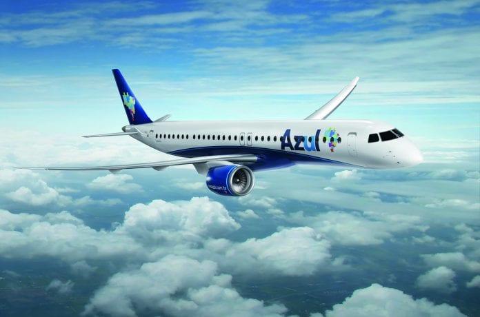 Azul Linhas Aéreas vai operar nova rota de voo do Espírito Santo para Bahia. Crédito: Divulgação