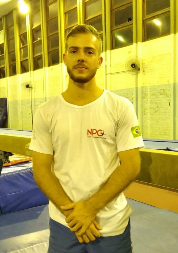 Tharik Arnous Alves, estudante de Educação Física, perdeu a bolsa da Ufes. Crédito: Acervo pessoal