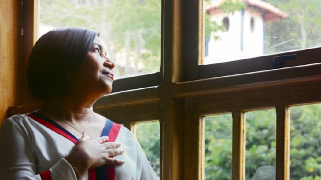 Cantora e missionária Salette Ferreira. Crédito: Canção Nova/Divulgação