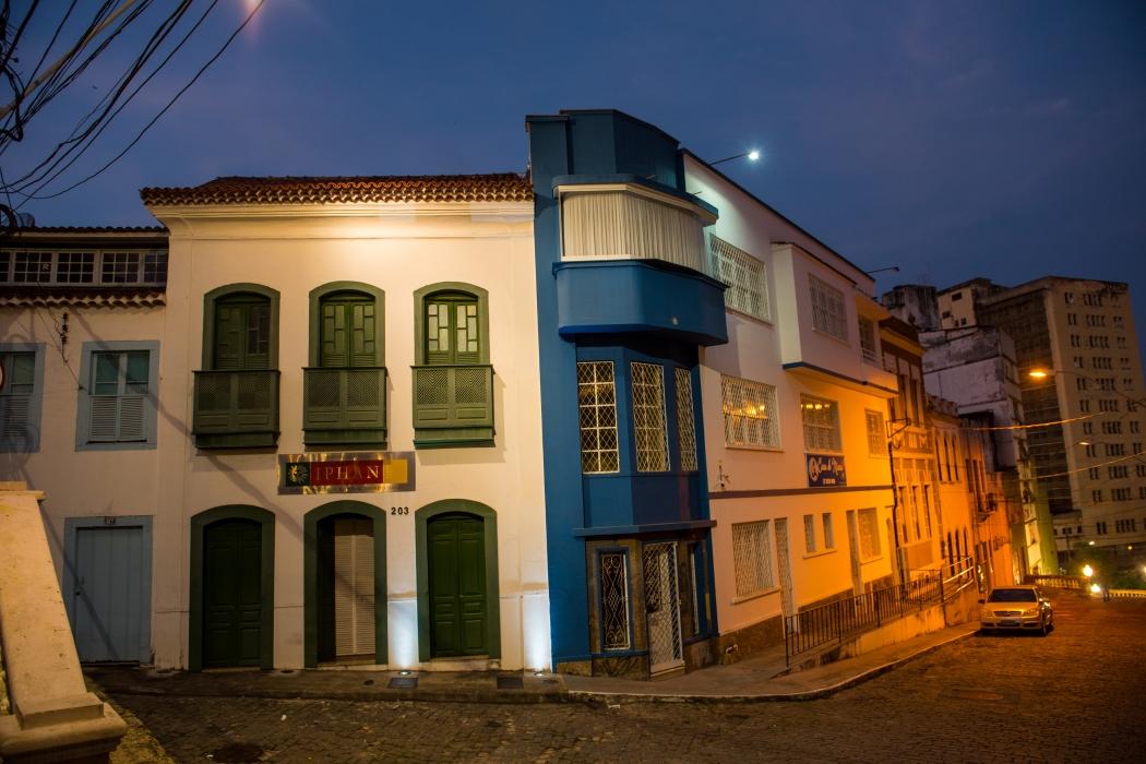 Casa construída no período colonial que hoje é sede do IPHAN. Crédito: Vitor Jubini