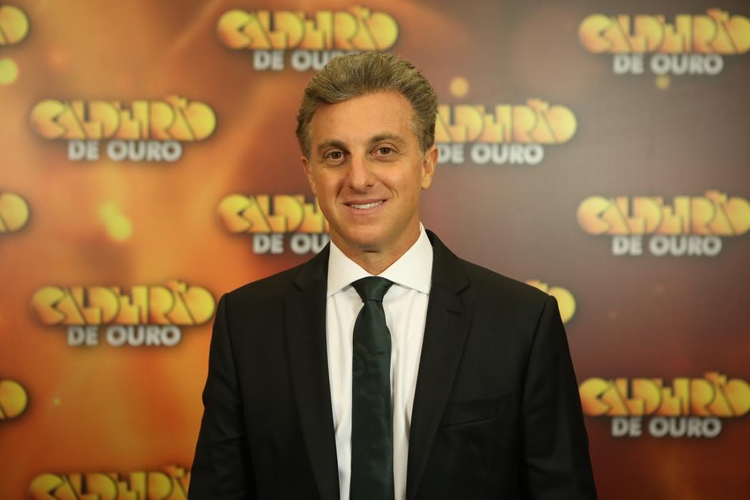 O apresentador Luciano Huck. Crédito: Globo/Isabella Pinheiro