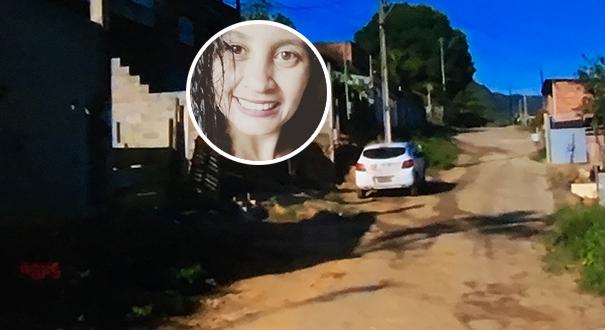 Maiara de Oliveira Freitas foi assassinada na frente da filha. Crédito: Reprodução/TV Gazeta/Instagram