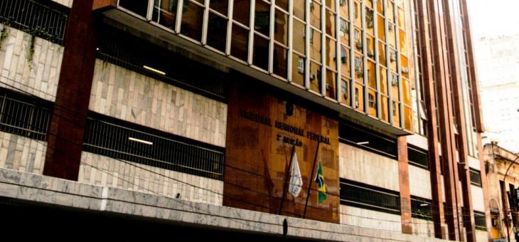 Sede do TRF2, no Rio de Janeiro. Crédito: Divulgação/TRF2