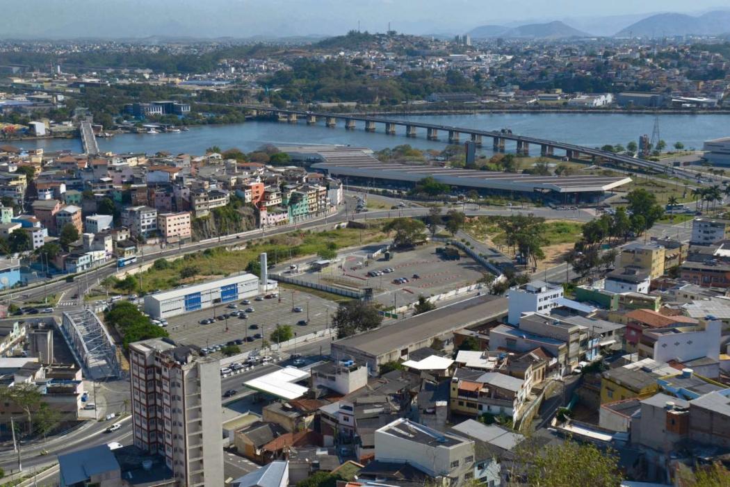 Local onde deve ser construído o Portal do Príncipe, em Vitória. Crédito: Vitor Jubini