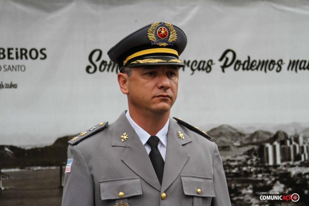 Coronel Carlos Wagner Borges é diretor de Comunicação do Corpo de Bombeiros e coordenador do Projeto Político Militar no Espírito Santo . Crédito: Acervo pessoal