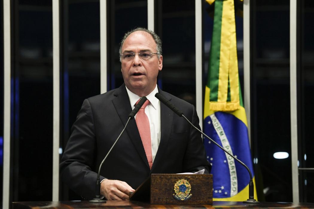Senador Fernando Bezerra Coelho (MDB-PE) na tribuna. Crédito: Jefferson Rudy/Agência Senado - 10/09/2019