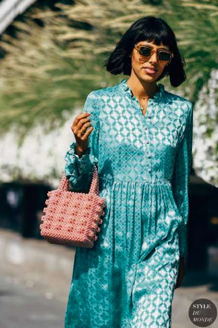 Bolsas de contas e miçangas são a nova trend na moda. Crédito: Pinterest