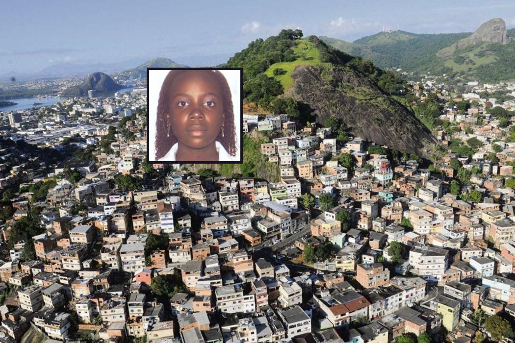 Jenifer Correia Serafim administra imobiliária de traficantes do PCV. Crédito: Montagem | Gazeta Online