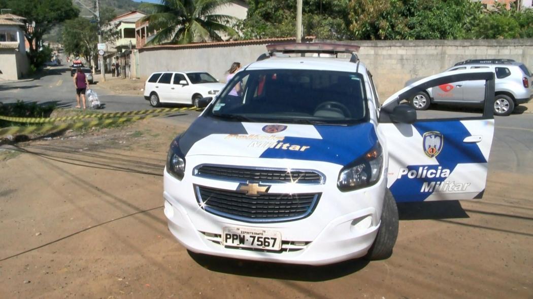Polícia Militar foi acionada ao bairro Vista da Serra II. Crédito: Reprodução/TV Gazeta