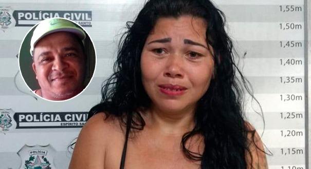 As investigações apontam que Adriana Simora Heuller matou Márcio Wagner de Jesus para ficar com o seguro de vida e verbas trabalhistas dele. Crédito: Polícia Civil