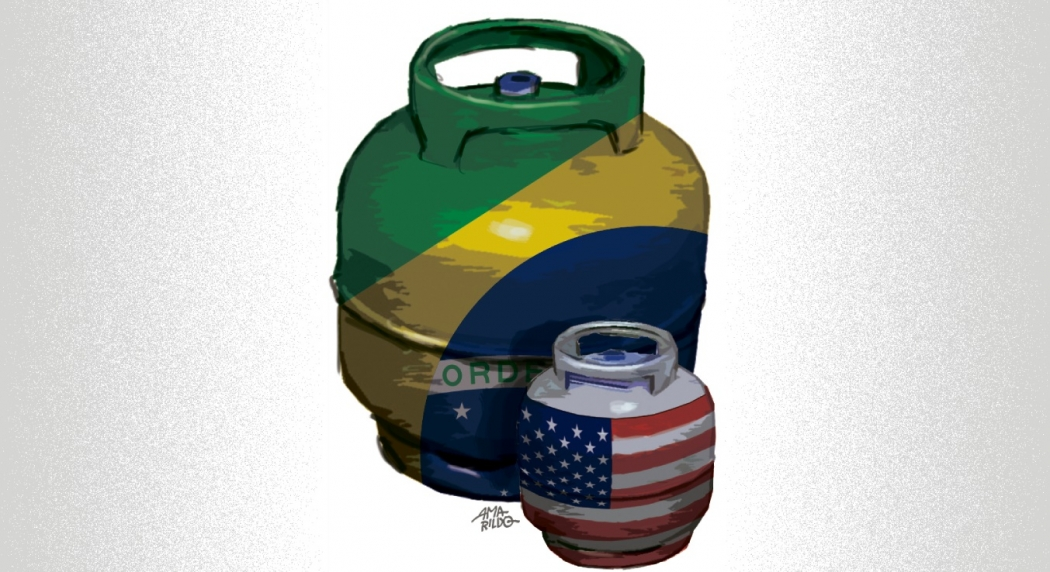 Botija de gás: porque preço do produto no Brasil é tão caro?. Crédito: Amarildo