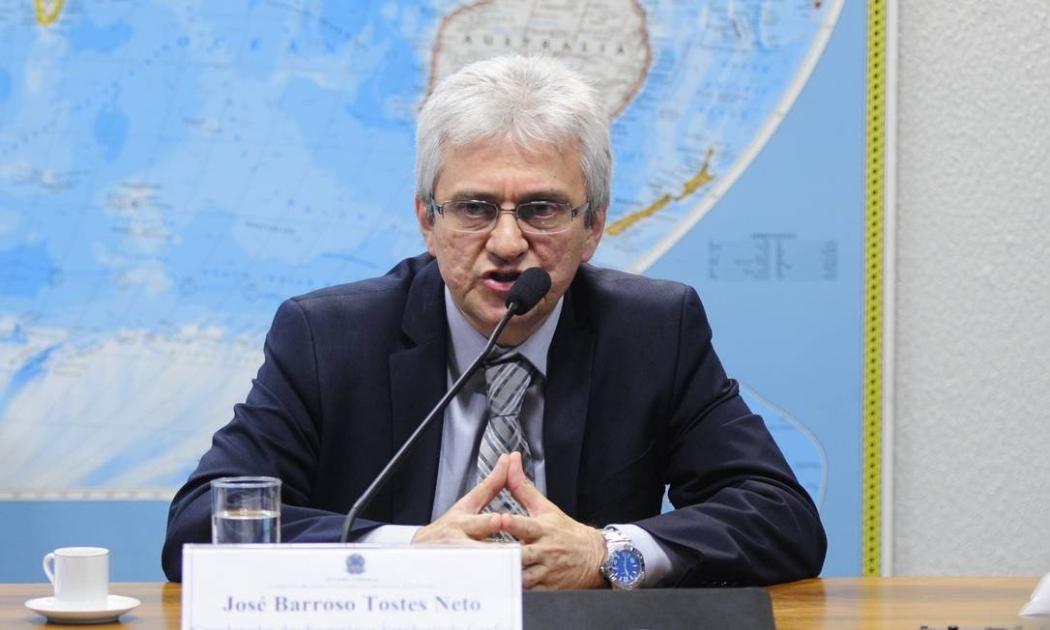 O auditor fiscal José Barroso Tostes Neto. Crédito: Pedro França/Agência Senado - 13/05/15