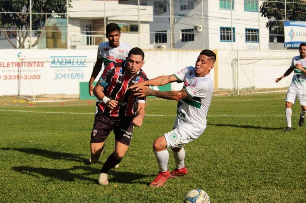 O Serra perdeu para o Pinheiros em casa. Crédito: Rafael Chaves/Serra