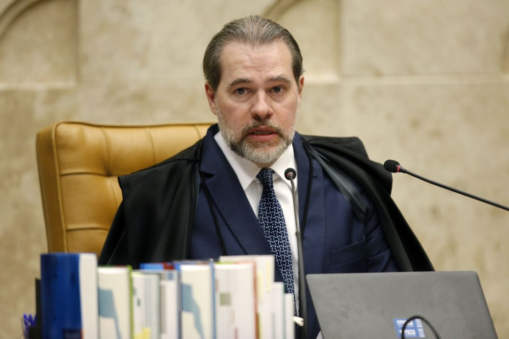 Presidente do Supremo Tribunal Federal (STF), ministro Dias Toffoli. Crédito: Rosinei Coutinho/SCO/STF