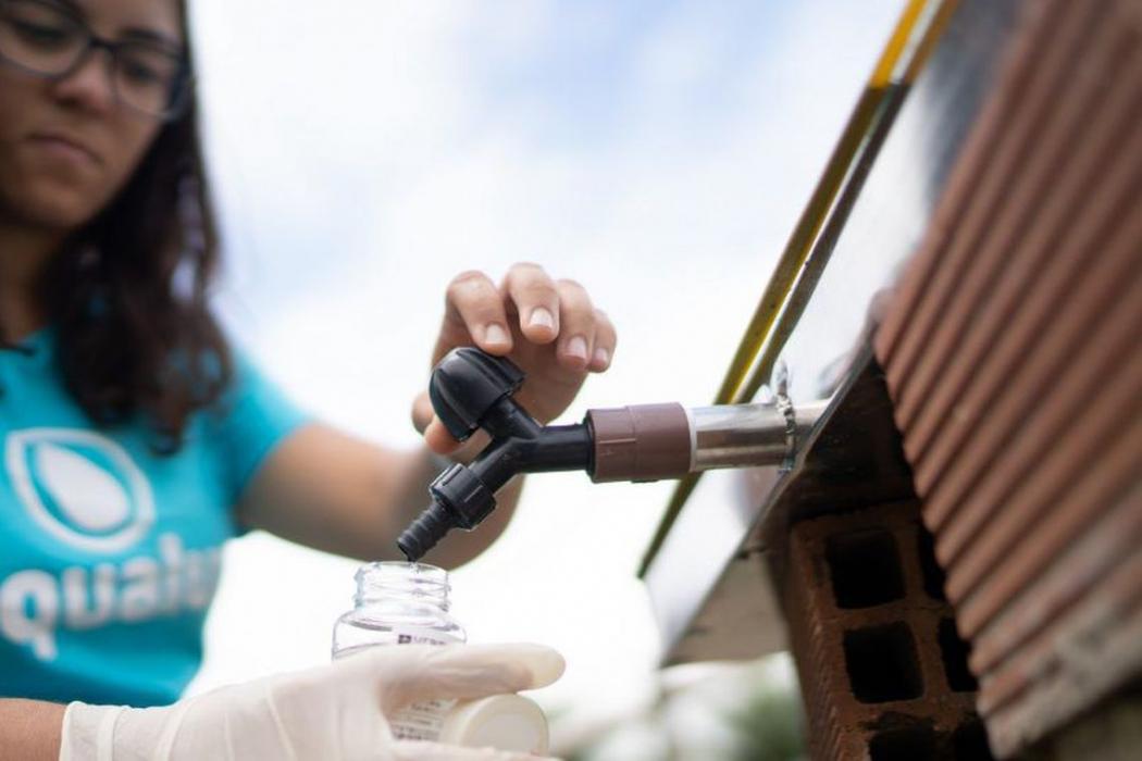 Com projeto para filtrar água, brasileira é 1ª a ganhar prêmio da ONU. Crédito: Divulgação/ONU