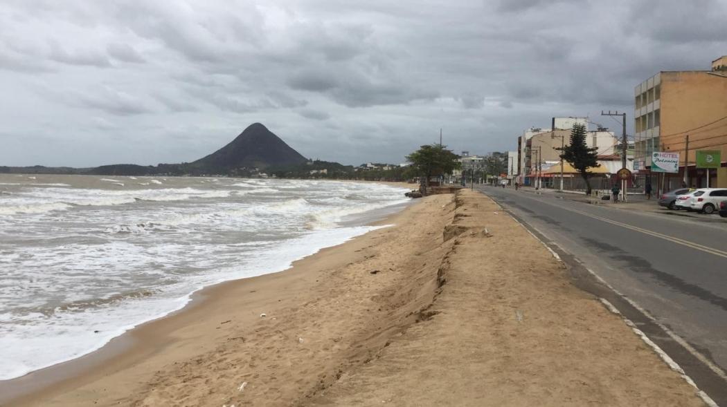 Ventania deixa Piúma sem energia. Crédito: Rafael Ferraz/TV Gazeta Sul