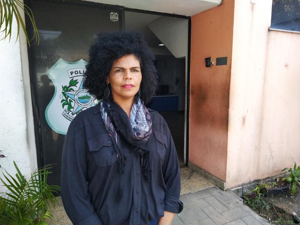 Briza Moreira, de 40 anos, foi vítima de importunação dentro de um ônibus do Transcol. Crédito: Caíque Verli