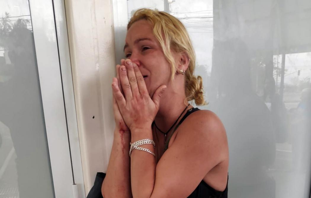 Rosiani de Souza Gregório, mãe de estudante assassinado. Crédito: Isaac Ribeiro