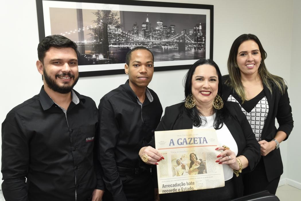 """A contadora Olírica Cunha incentiva a saúde emocional de seus funcionários: """"O que adianta eu ter um trabalho voluntário na rua se não cuido da minha casa?"""""""
