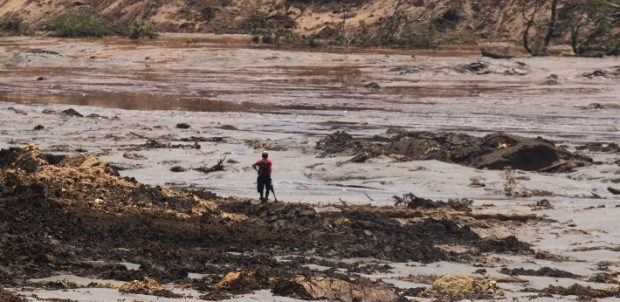 Brumadinho, onde barragem da Vale se rompeu. Crédito: WILTON JUNIOR/ESTADÃO