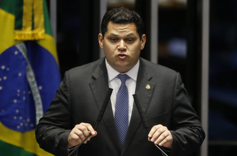 O presidente do Senado,Davi Alcolumbre (MD-AP). Crédito: Dida Sampaio/Estadão