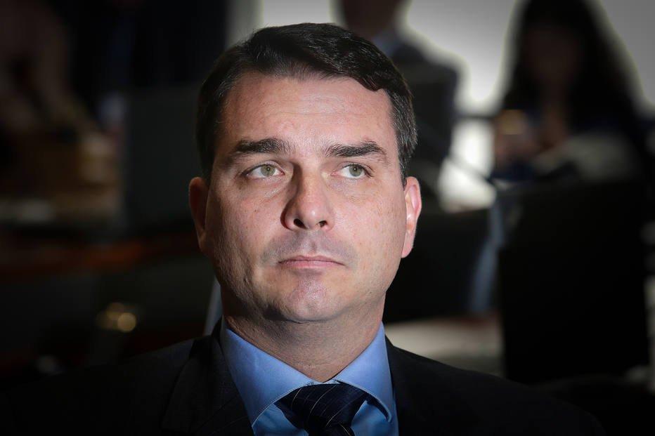 O senador Flávio Bolsonaro do PSL-RJ . Crédito: Dida Sampaio/Estadão