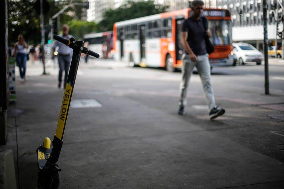 Pontos de estacionamento estão sendo discutidos com as empresas . Crédito: Werther Santana/Estadão