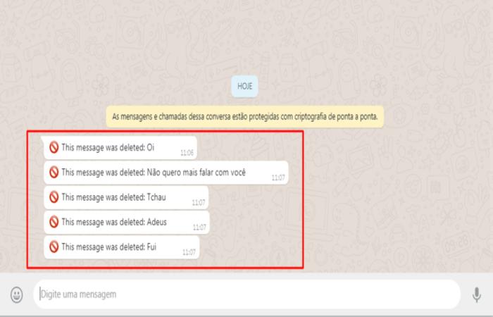 Extensão permite ler mensagens deletadas